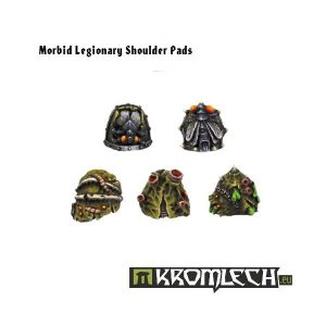 Kromlech   Heretic Legionary Conversion Parts Morbid Legionaries Shoulder Pads (10) - KRCB077 - 5902216110755