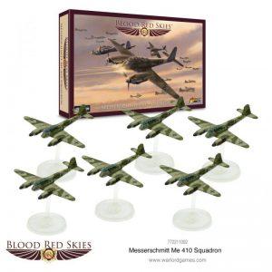 Warlord Games Blood Red Skies  Blood Red Skies Blood Red Skies: Me 410 Squadron - 772211002 - 5060572502727