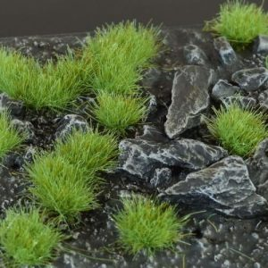 Gamers Grass   Tufts Green 4mm Tufts Wild - GG4-G - 738956787897
