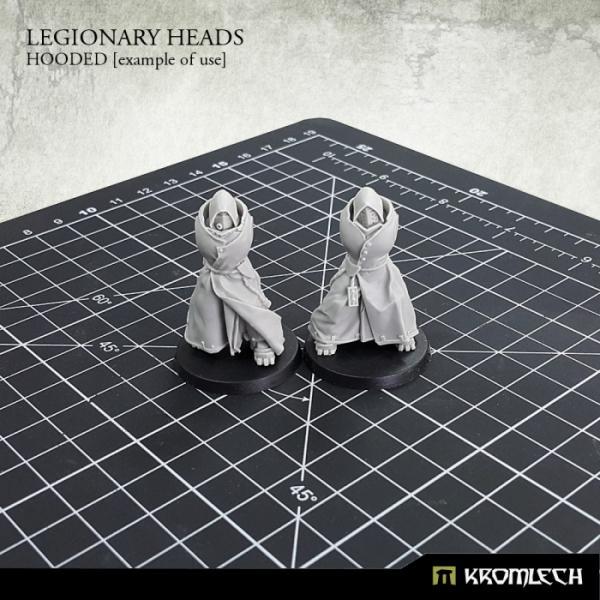 Kromlech   Legionary Conversion Parts Legionary Heads: Hooded (10) - KRCB205 - 5902216116061