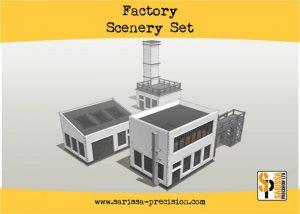 Warlord Games   Sarissa Precision Factory Scenery Set - i010 - 5060572504257