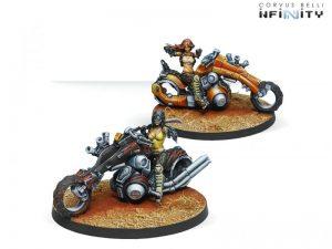 Corvus Belli Infinity  Haqqislam The Nazarova Twins, Kum Enforcers - 280472-0518 - 2804720005189