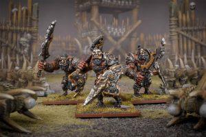 Mantic Kings of War  Ogres Ogre Warriors Regiment (2020) - MGKWH301 - 5060469665900