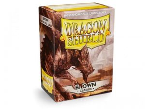 Dragon Shield   Dragon Shield Dragon Shield Sleeves Brown (100) - DS100BR - 5706569100117