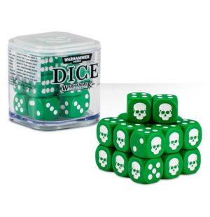 Games Workshop (Direct)   D6 Citadel Dice Cube - Green - 99229999150 - 5011921068203G