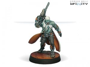 Corvus Belli Infinity  Nomads Sin-Eater Observants (MULTI Sniper Rifle) - 280540-0252 - 2805400002528