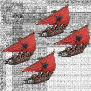 Mantic Kings of War Armada  Orcs Orc Rabble Squadrons - MGARO302 - 5060469667478