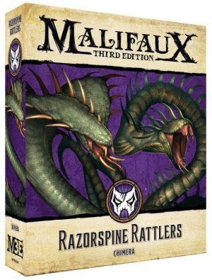 Wyrd Malifaux  Arcanists Razorspine Rattler - WYR23429 -