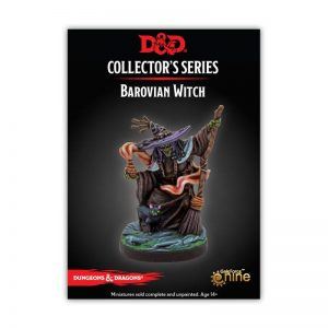 Gale Force Nine Dungeons & Dragons  D&D Miniatures D&D: Curse of Strahd - Barovian Witch - GFN71131 - 9420020251045