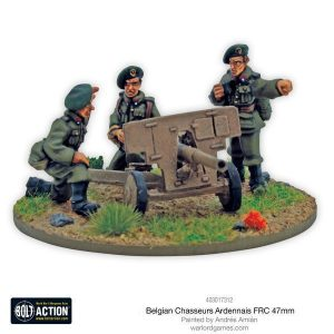 Warlord Games Bolt Action  Belgian Army (BA) Belgian Chasseurs Ardennais FRC 47mm anti-tank gun - 403017312 -