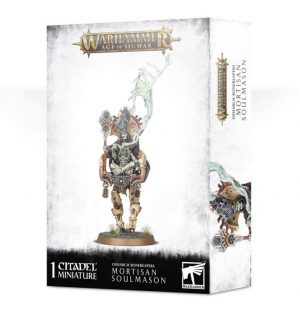 Games Workshop Age of Sigmar  Ossiarch Bonereapers Ossiarch Bonereapers Mortisan Soulmason - 99120207080 - 5011921126293