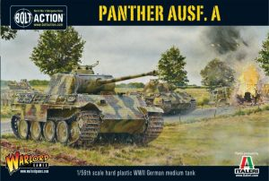 Warlord Games Bolt Action  Germany (BA) Panther Ausf A (plastic) - 402012017 - 5060200849910