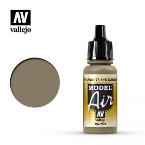 Vallejo   Model Air Model Air: Camouflage Grey RAL7027 - VAL118 - 8429551711180