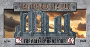 Gale Force Nine   Battlefield in a Box Gothic Battlefields: Gallery of Valour - BB524 - 9420020216532