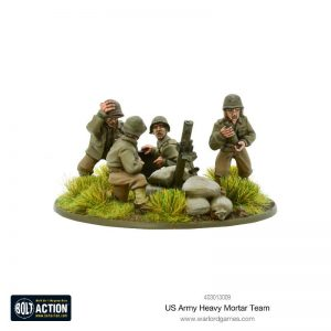 Warlord Games Bolt Action  United States of America (BA) US Army Heavy Mortar Team - 403013009 - 5060393709275