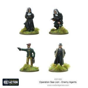 Warlord Games Bolt Action  Germany (BA) Operation Sea Lion Enemy Agents - 403010002 - 5060393707301