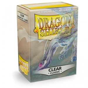 Dragon Shield   Dragon Shield Dragon Shield Sleeves Clear (100) - DS100CL - 5706569100018