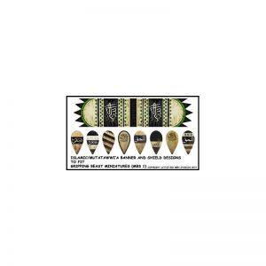 Gripping Beast SAGA  SAGA Mutatawwi'a Banners & Shield transfers - LBMS SAGA SMF 99 -
