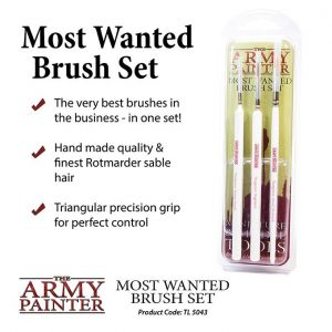 The Army Painter   Army Painter Brushes Most Wanted Brush Set - APTL5043 - 5713799504301