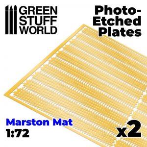 Green Stuff World   Etched Brass Photo etched - MARSTON MATS 1/72 - 8435646501161ES -