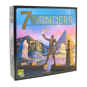Asmodee 7 Wonders  7 Wonders 7 Wonders - 2nd Edition - ASMSEV2US01 - 5425016924006