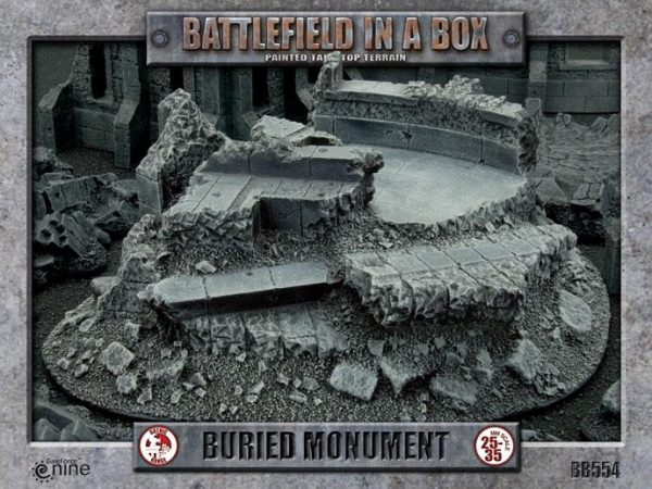 Gale Force Nine   Battlefield in a Box Battlefield in a Box: Buried Monument - BB554 - 9420020222243