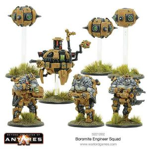 Warlord Games Beyond the Gates of Antares  SALE! Boromite Engineers and Workshop - 502212002 - 5060393705932