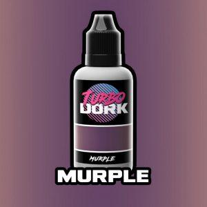 Turbo Dork   Turbo Dork Murple Metallic Acrylic Paint 20ml Bottle - TDMURMTA20 - 631145994482