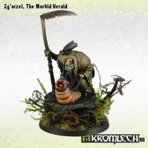 Kromlech   Heretic Legionary Model Kits Zg'orzel, The Morbid Herald (1) - KRM084 - 5902216113343