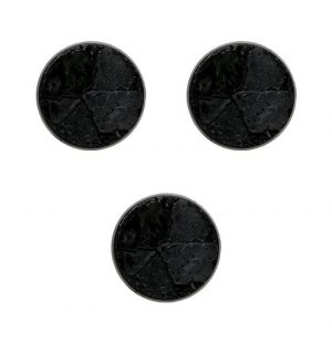 Games Workshop (Direct)   Plain Bases Citadel 60mm Round Textured Bases - 99229999109 - 5011921019229