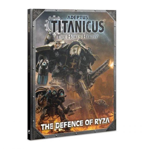 Games Workshop (Direct) Adeptus Titanicus  Adeptus Titanicus Adeptus Titanicus: The Defence of Ryza - 60040399011 - 9781788269490