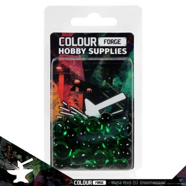 The Colour Forge   Glass Gems Mana Pool: Dreamweaver (small) - TCF-MP-0195 - 5060843100195