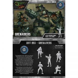 Wyrd The Other Side  King's Empire Grenadiers - WYR40105 - 812152030084
