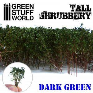 Green Stuff World   Plants & Flowers Tall Shrubbery - Dark Green - 8436574504231ES - 8436574504231