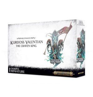 Games Workshop Age of Sigmar  Nighthaunts Kurdoss Valentian The Craven King - 99120207061 - 5011921100835