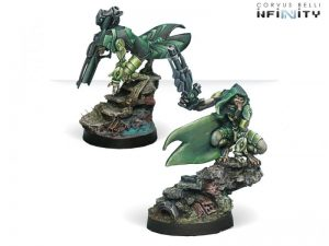 Corvus Belli Infinity  Combined Army Noctifers (Spitfire / Missile Launcher) - 280693-0739 - 2806930007397