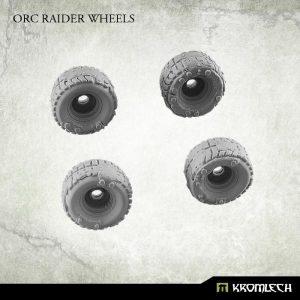 Kromlech   Vehicles & Vehicle Parts Orc Raider Wheels (4) - KRVB020 - 5902216113657