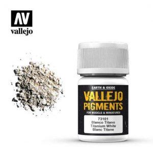 Vallejo   Pigments Vallejo Pigment - Titanium White - VAL73101 - 8429551731010