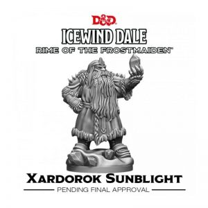 Gale Force Nine Dungeons & Dragons  D&D Miniatures D&D: Icewind Dale: Rime of the Frostmaiden - Xardorok Sunblight - GFN71125 - 9420020250987