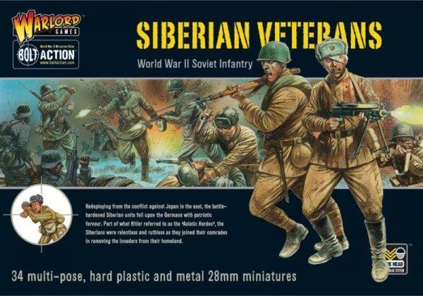 Warlord Games Bolt Action  Soviet Union (K47) Siberian Veterans (34) - WGB-RI-03 - 5060200845790
