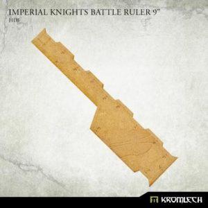Kromlech   Tapes & Measuring Sticks Imperial Knights Battle Ruler 9 - KRGA090 - 5908291070298