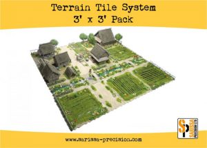 Warlord Games   Sarissa Precision Terrain Tile System Pack - TT01 - 5060572504233