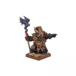Mantic Kings of War  Abyssal Dwarves Ghenna, Keeper of the Black Flame - MGKWK76-1 - 5060208866254