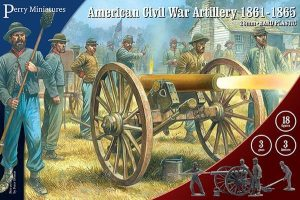 Perry Miniatures   Perry Miniatures American Civil War Artillery 1861-1865 - ACW90 - ACW90