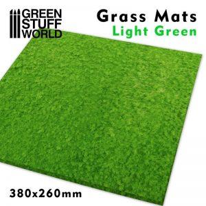 Green Stuff World   Grass Mats Grass Mats - Light Green - 8436574508277ES - 8436574508277