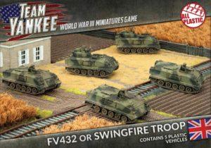 Battlefront Team Yankee  British FV432 APC or Swingfire Troop - TBBX02 - 9420020231597