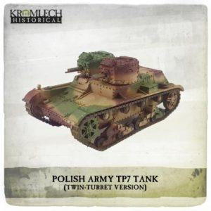 Kromlech   Kromlech Historical Polish Army twin-turret 7TP tank - KHWW2014 - 5902216118126