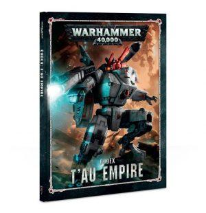 Games Workshop Warhammer 40,000  T'au Empire Codex: T'au Empire - 60030113011 - 9781788261586