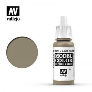 Vallejo   Model Colour Model Color: German Cam Beige WWII - VAL821 - 8429551708210