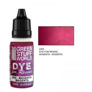 Green Stuff World   Specialist Paints Dye for Resins MAGENTA - 8436574507645ES - 8436574507645